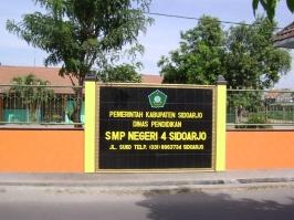 Wajah SMP Negeri 4 Sidoarjo